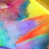 Aline Lamiable Ferraton crayons aquarellables