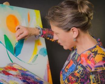 Aline Lamiable Ferraton portrait Arbre de vie de B